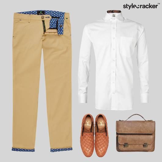 White Crisp Shirt SlipOn Office Work - StyleCracker