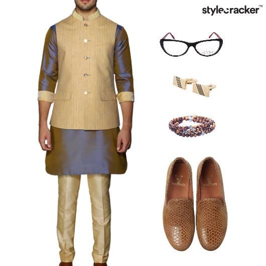 Indian Ethnic SlipOn Festive  - StyleCracker