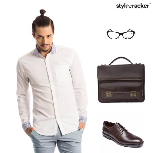 Formal Office Dayout Shirt Trousers 9to5 - StyleCracker