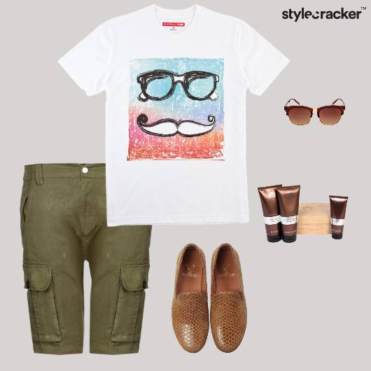 Casual Graphic TShirt Lunch  - StyleCracker