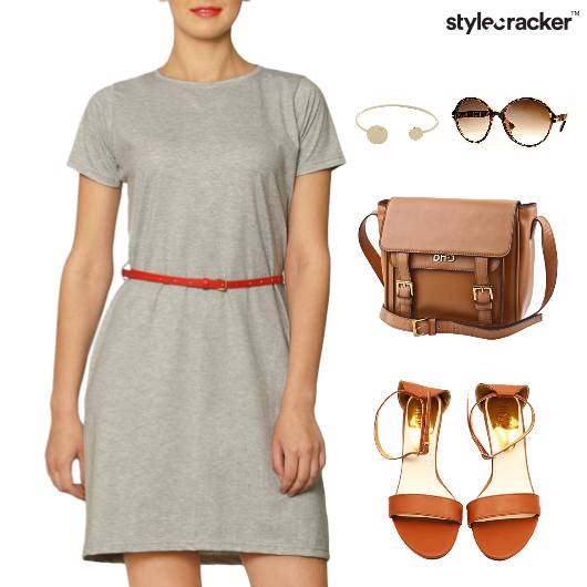 Sling Bag Flats Casual Weekend - StyleCracker