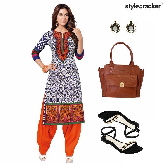 Indian Festive Ethnic Flats  - StyleCracker