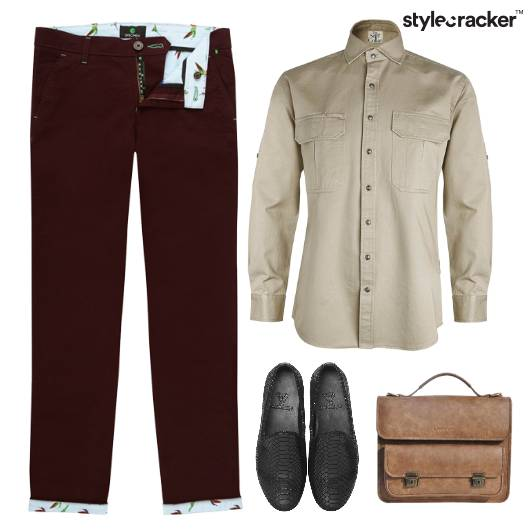 Work Shirt Chino SlipOn - StyleCracker