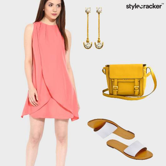 Summer Sliders Earrings Pastel  - StyleCracker