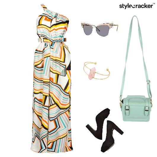 Jumpsuit Printed Brunch Summer  - StyleCracker