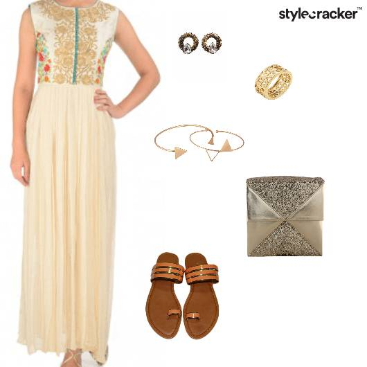 Anarkali Indian Ethnic Festive Summer - StyleCracker