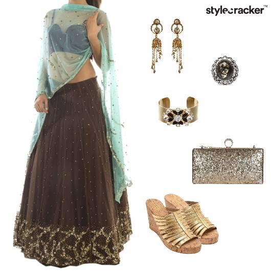 Lehenga Set Indian Ethnic Wedding - StyleCracker
