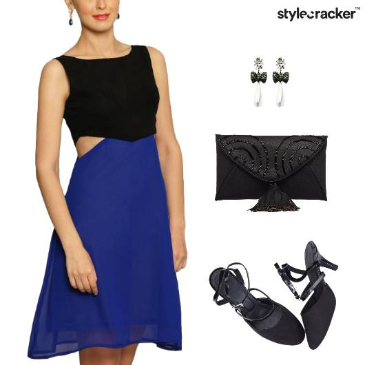 Cutwork Dress Slingback Footwear Clutch  - StyleCracker