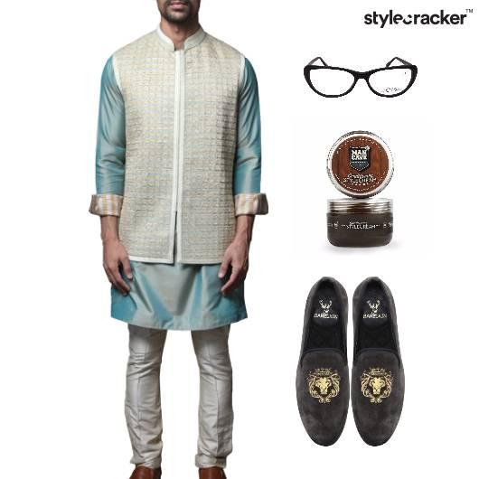 Festive Suit SlipOn Lunch  - StyleCracker