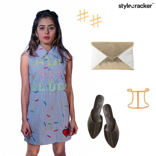 PatchWork Mules Summer Quirky - StyleCracker