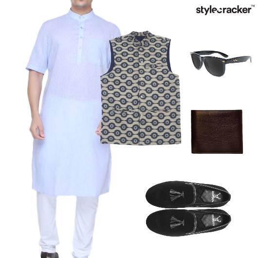 Indianwear Tassels Waistcoat Sunglasses - StyleCracker