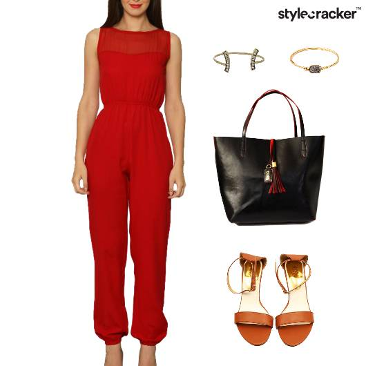 Jumpsuit Flats Tote Bag Bracelet - StyleCracker