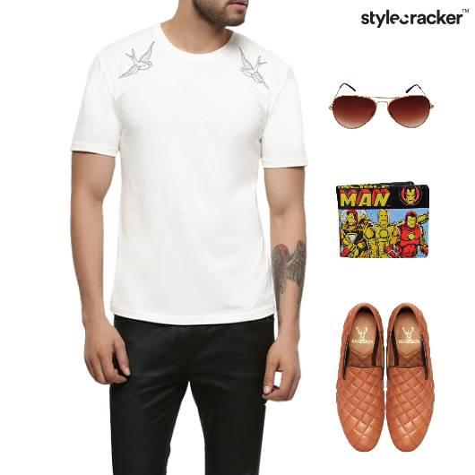 Casual TShirt Chinos SlipOn Comfort - StyleCracker