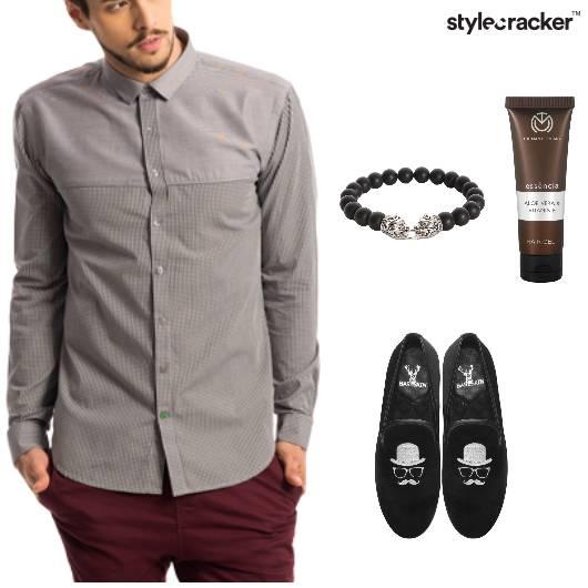 Shirt Chino SlipOns DateNight - StyleCracker