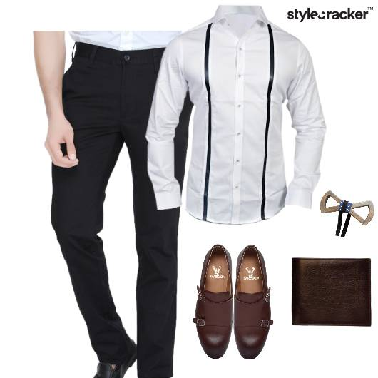 Shirt Chino Brogues Bowtie  - StyleCracker