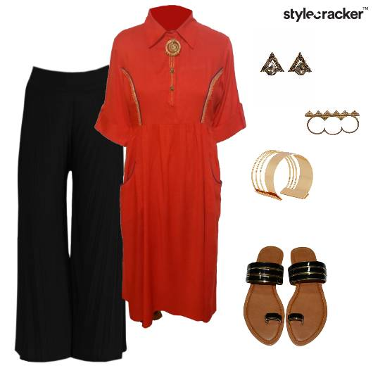 Kurta Palazzo Indian Ethnic Summer - StyleCracker
