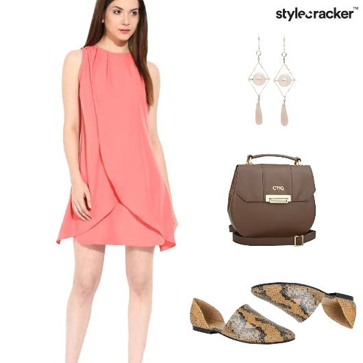 Dress Summer Casual Earrings SlipOn - StyleCracker