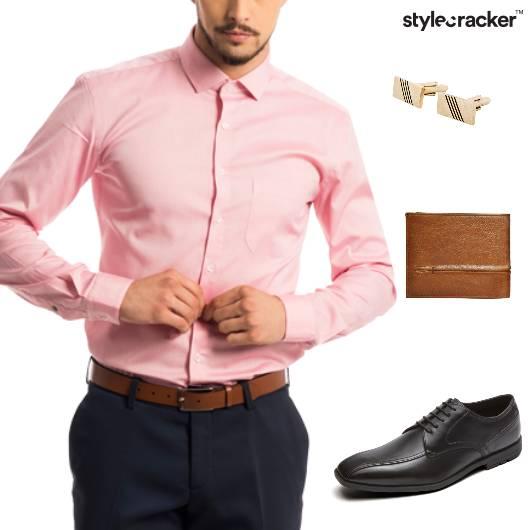 Shirt Chinos Formal Meeting Work - StyleCracker
