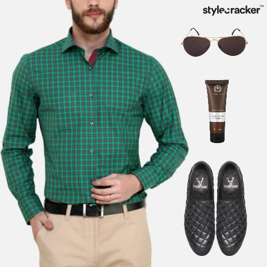 Casual Shirt SlipOn GroomingKit Lunch - StyleCracker