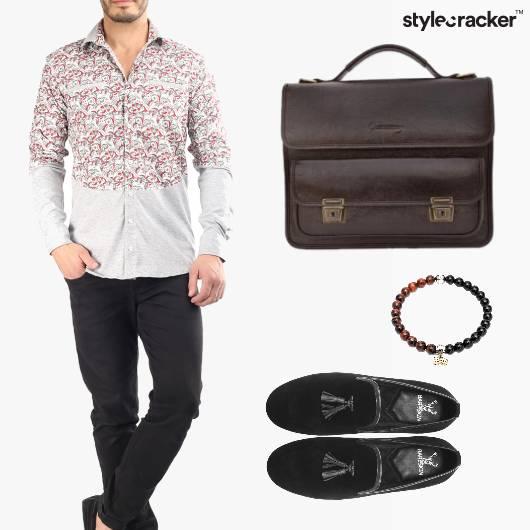 Shirt Bag Slipons Work Meeting - StyleCracker