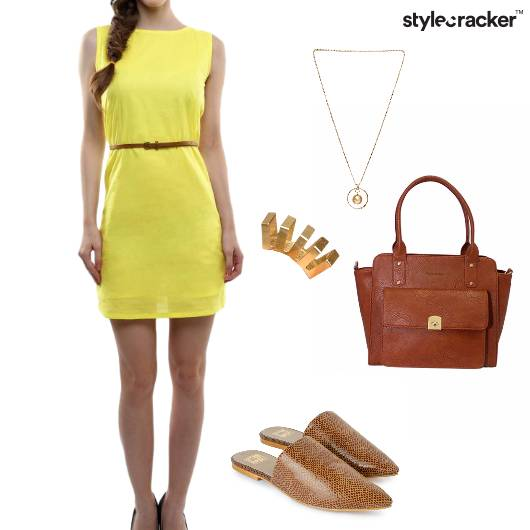 Dress Handbag SlipOn Flats Brunch - StyleCracker