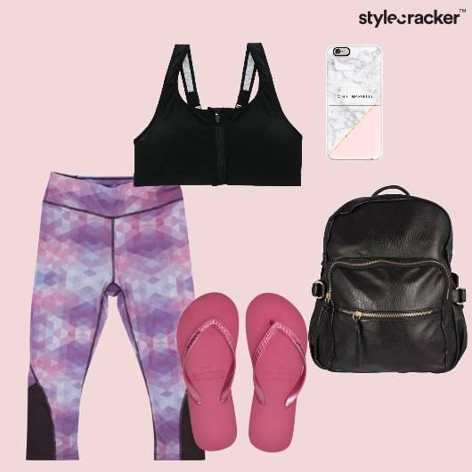 Sporty Leggings Backpack Yoga Casual - StyleCracker