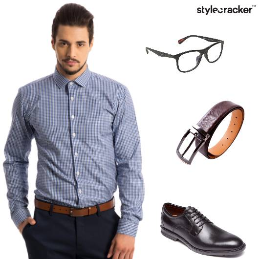 Shirt Trousers Oxfords Work 9to5 - StyleCracker