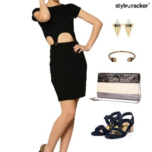 Cutwork Dress Dinner Accessories Clutch - StyleCracker