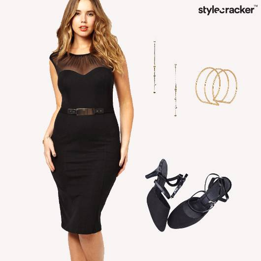 Party Cocktail Pumps Bodycon Dress - StyleCracker