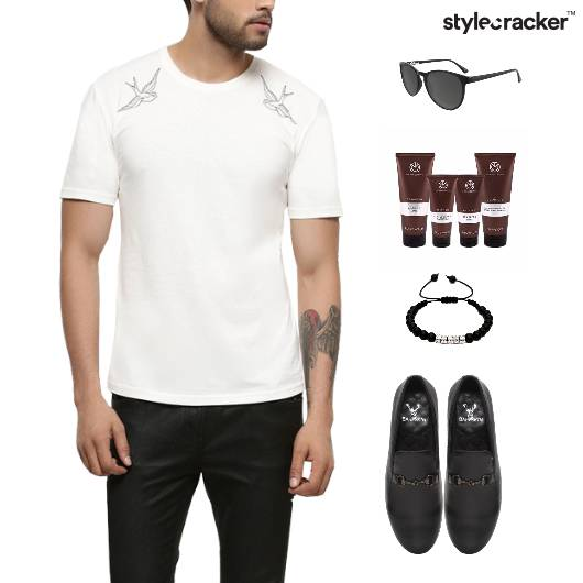 Casual TShirt SlipOn Grooming Lunch - StyleCracker