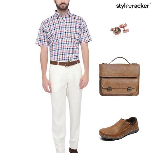 Shirt Casual Chinos Meeting Work - StyleCracker