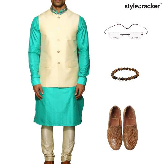 Indian Festive Ethnic KurtaSet  - StyleCracker