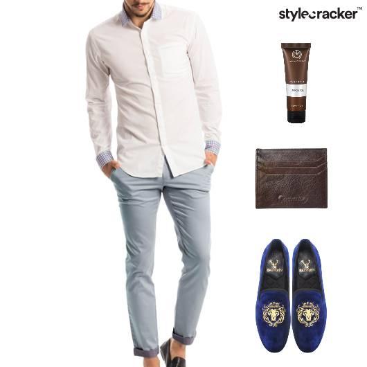 Casual Shirt SlipOn Chinos Lunch - StyleCracker