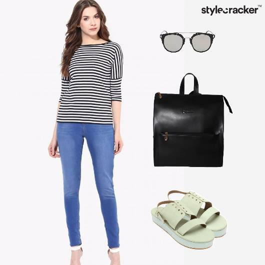 Casual Striped College Basics - StyleCracker