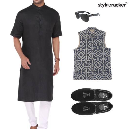 Kurta Indian Semiformal Slipons Sunglasses - StyleCracker