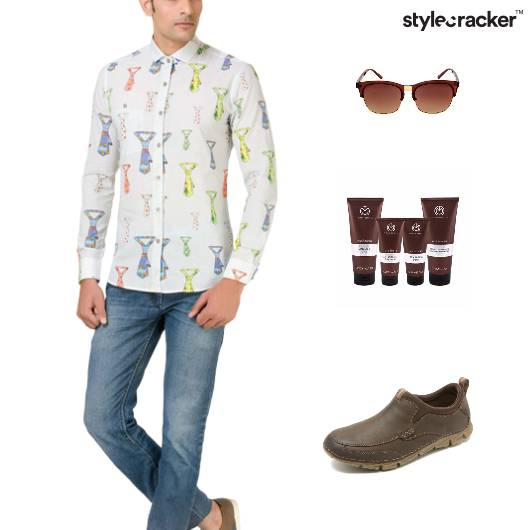 Quirky Shirt Grooming Denim Casual - StyleCracker