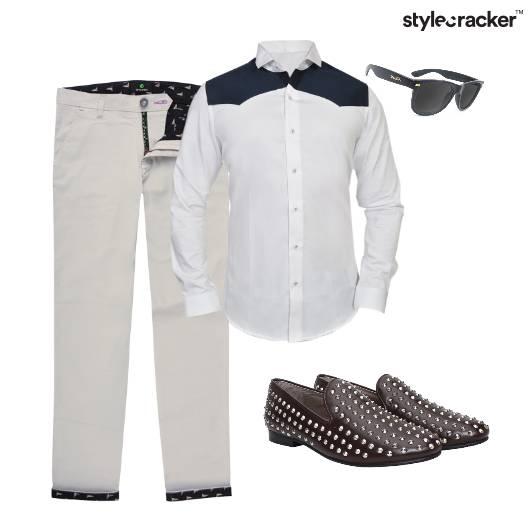 Shirt Bowtie Slipons Pants Semiformal Party - StyleCracker