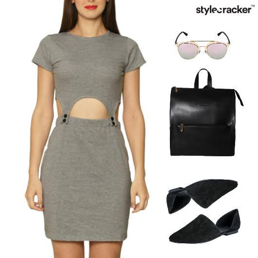 Cutwork Dress Backpack SlipOn Casual - StyleCracker
