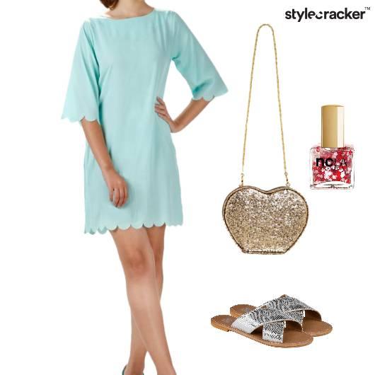 Casual Dressy Glitter Dayout  - StyleCracker