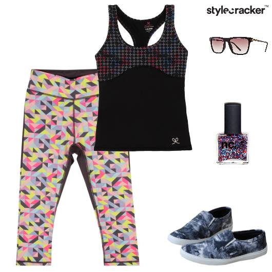 Sporty Gym Workout ActiveWear - StyleCracker
