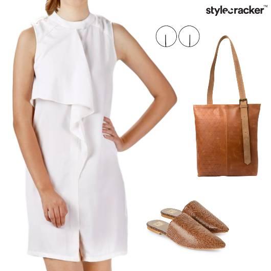White Classic Work Minimal  - StyleCracker