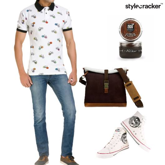 Tshirt Shorts Hightops Casual  Printed - StyleCracker