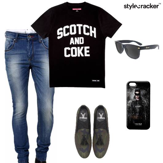 Tshirt Jeans Loafers Sunglasses Phonecover - StyleCracker