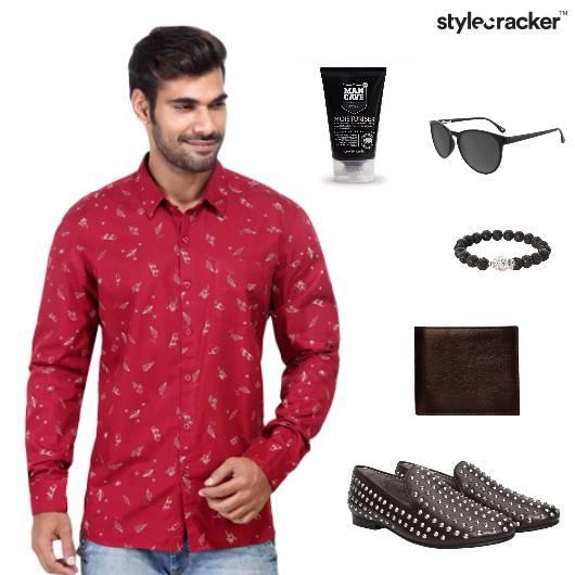 Shirt Slipons Jeans DateNight Wallet - StyleCracker
