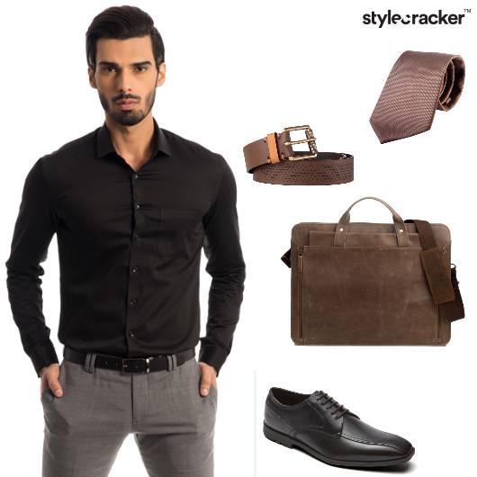 Shirt Chinos Messenger Bag Oxford 9to5 - StyleCracker
