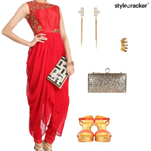 LowHigh Indian Ethnic Wedding  - StyleCracker