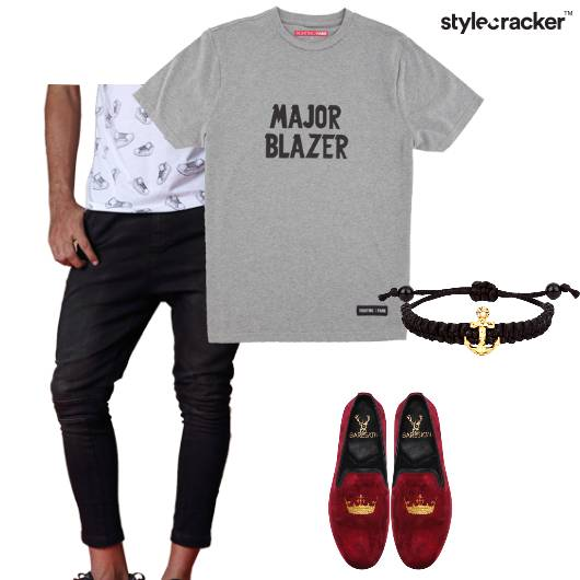 Tshirt Jeans Loafers Casual Travel - StyleCracker