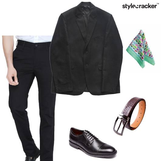 Blazer Shirt Trouser Oxfords SuitedUp  - StyleCracker