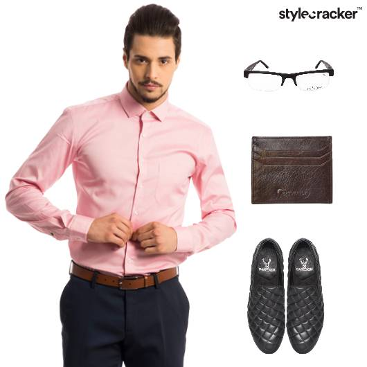 Shirt Formal SlipOn Work Meeting - StyleCracker