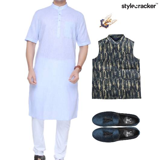 Kurta Jacket Slipons Ethnic Formals - StyleCracker